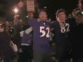 News video: Super Bowl-Bound Ravens Fans Celebrate Win